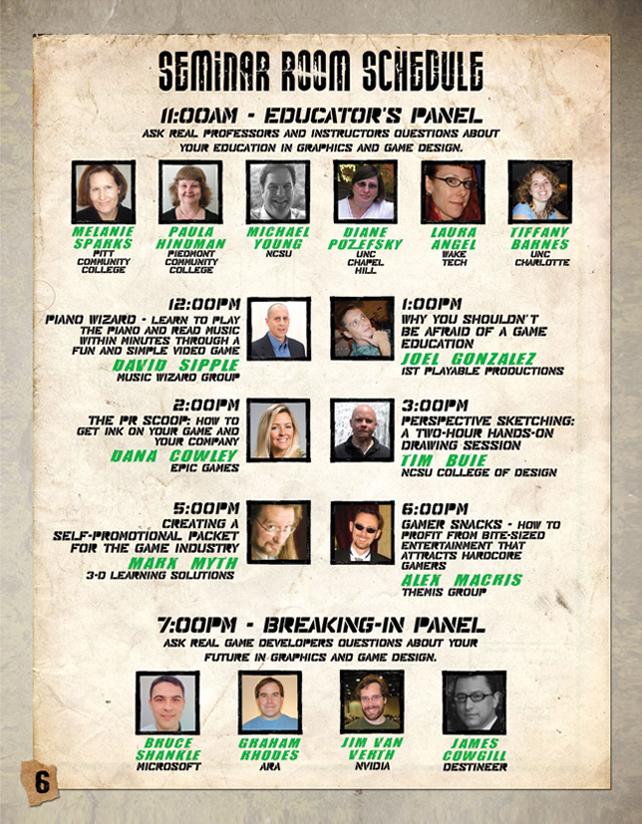 Carolina Games Summit - Speakers