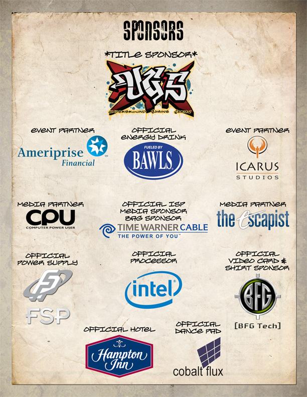 2008 Sponsors