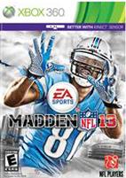 Madden NFL 2013 1v1